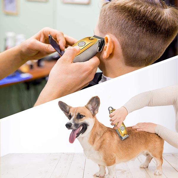 tondeuse créée pour couper les cheveux et les poils de chien